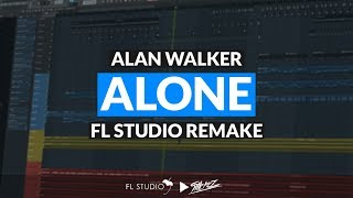 Alan Walker - Alone (Instrumental/FL Studio Remake)