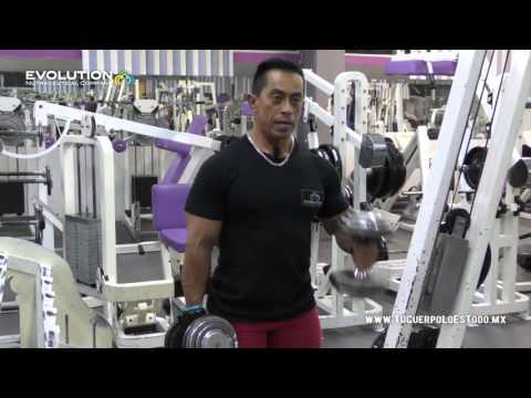 Rutina para Grosor Volumen de Bíceps