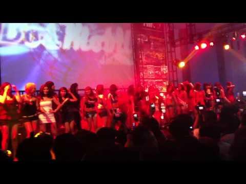 Hot Import Night Girl Friends on Stage (HINCITY) Jogjakarta May 2012