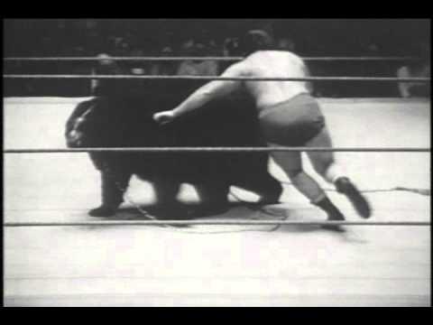 Terrible Ted The Wrestling Bear vs. Gene Dubois