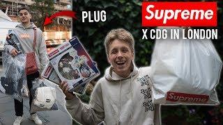 LONDON SUPREME x CDG DROP IN STORE! WEEK 4 SUPREME DROP
