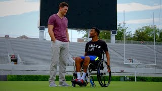 Former Football Players Devon Gales and Marshall Morgan Find Friendship in Tragedy