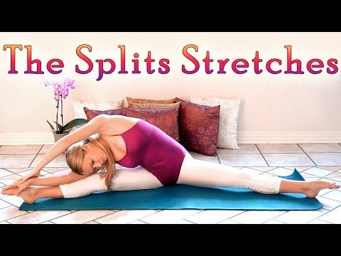 The Splits Stretches Middle Splits Flexibility Workout How To Do The Splits For Beginners