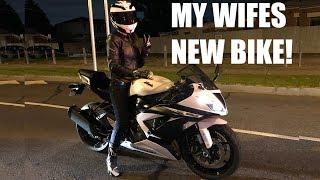 My Wife's New Kawasaki Ninja 636!