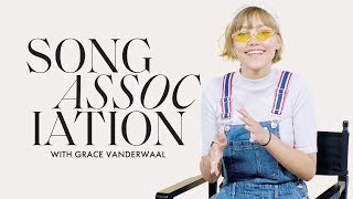 "Grace VanderWaal Sings New Song ""Ur So Beautiful"" In a Game of Song Association 