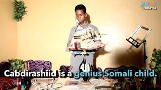 Will Soomali oo maskax badan - Genius Somali boy