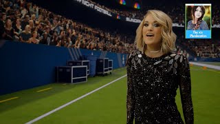 2016 Sunday Night Football Intro w/ Carrie Underwood (CHI @ DAL) | LIVE 9-25-16