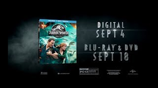 Jurassic World: Fallen Kingdom Blu-Ray - Official® Trailer 2 [HD]