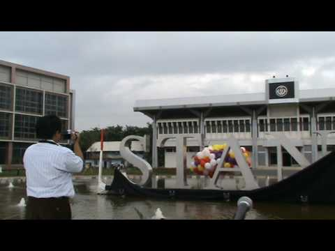 Peresmian Simbolis Gedung STAN oleh Menteri Keuangan Sri Mulyani Indrawati