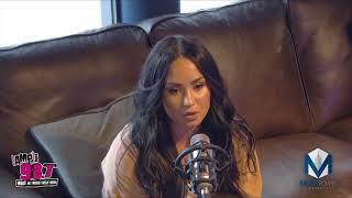 Demi Lovato Interview With Julia 987 AMP Radio
