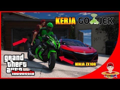 Xxx Mp4 GTA V MOD INDONESIA 21 KERJA GOJEK DEMI SANG ISTRI 😍😍 3gp Sex