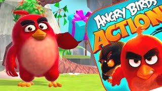 LEVELS 66 - 72 ANGRY BIRDS ACTION WALKTHROUGH- Brand New Angry Birds Movie Game (IOS/ANDROID)