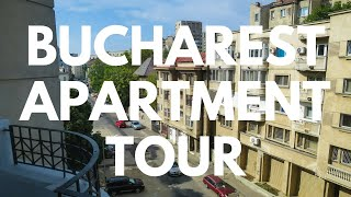 A Tour of My AirBnb Apartment in Bucharest, Romania