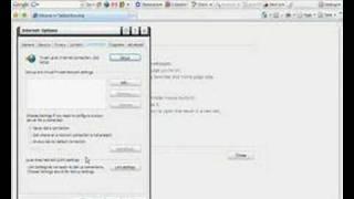 Internet Proxy Configuration