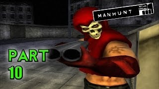 GRAVEYARD SHIFT! - Manhunt (Part 10 - Haunted Gaming)