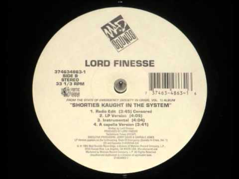 Lord Finesse Shorties Kaught In The System Instrumental