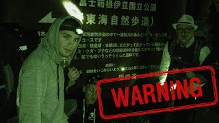 Camping in JAPANESE SUICIDE FOREST *Haunted*