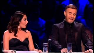 Tulisa Fag Ash Breath! * Gary Barlow insult on live TV* X Factor