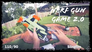 Nerf meets COD | Gun Game 2.0 | Filmed in 4K!