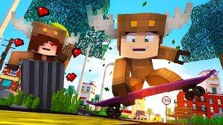 Minecraft Daycare - BACK TO SCHOOL! w/ MooseCraft! (Minecraft Kids Roleplay) (Episode 1)