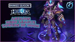 Grubby | Heroes of the Storm | Artanis - Hero League - Season 1 - Towers of Doom