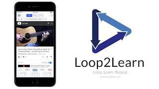 Loop2Learn - A YouTube Video Repeater App(iPhone, Android) Promo