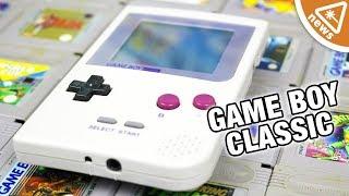 Is Nintendo Secretly Working on a Game Boy Classic? (Nerdist News w/ Jessica Chobot)