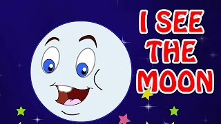 I See The Moon | Animated Nursery Rhyme in English Language