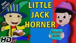 Little Jack Horner (HD) SING ALONG Nursery Rhyme   Popular Nursery Rhymes   Shemaroo Kids