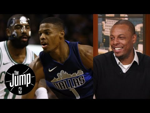 Paul Pierce has a message for Dennis Smith Jr. when it comes to Kyrie Irving The Jump ESPN