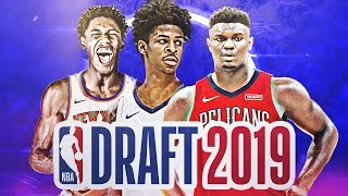 OFFICIAL 2019 NBA MOCK DRAFT