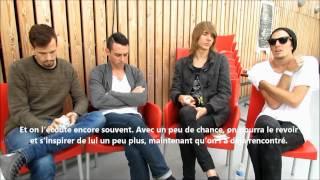 Interview de The Maine & This Century par leurs street teams françaises à Paris, 14.09.12