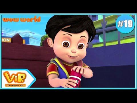 Vir: The Robot Boy | Rage Of Gintu | 3D Action Cartoon For Kids | Cartoon In English | Wow World