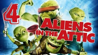 Aliens in the Attic Walkthrough Part 4 (PS2, Wii, PC) Movie Game - Level 04 -