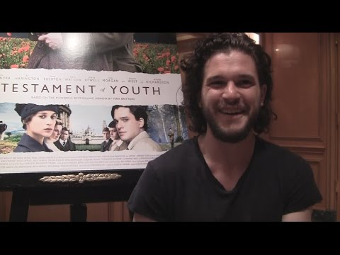 Xxx Mp4 Kit Harington Reveals The Andy Samberg Comedy 7 DAYS IN HELL Was Shot In 3 Days 3gp Sex