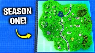 I Went Back To Season 1 Map - Fortnite