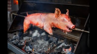 CRISPY PORK ROAST - - How To Roast a  Piglet / Spanferkel / Lechon
