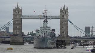 Themse in London City by Boat Tour London thames Tour London City Cruises Boot Sightseeing River