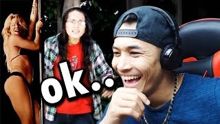 REACTING TO NEPALI SONG MV OF FAMOUS PEOPLE!! (ROAST) - James Shrestha