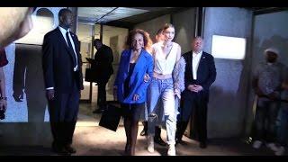 Gigi Hadid, Diane Von Furstenberg and Zyan Malik at Tom Ford Show in New York