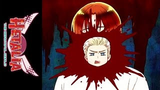 Hetalia: The Beautiful World - Official Clip - Hetalia Horror Movies Around the World
