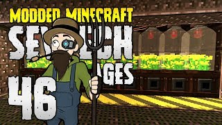 Minecraft SevTech: Ages | 46 | CANOLA OVERPOWER! | Modded Minecraft 1.12.2