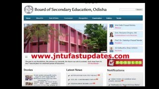 BSE Odisha 10th Results 2016 released at orissaresults.nic.in
