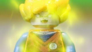 Lego Dragon Ball Z: Goku Transforms Into A Super Saiyan!