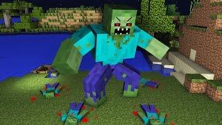 Zombie Apocalypse - Minecraft Animation