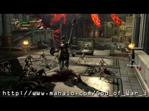 God of War 3 Demo Walkthrough Part I HD