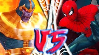 Spider-Man Universe - Spidey VS Thanos Gameplay Part 5 | Marvel: Future Fight