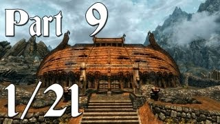 Skyrim Walkthrough - Part 9 - The Companions Quests [1/21] (PC Gameplay / Commentary)