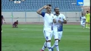 شكري نجيب يسجل الهدف الأول لصالح أسوان 1-1 أسوان VS بتروجيت من مباريات الدوري الممتاز