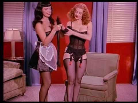 Bettie Page & Tempest Storm Teaserama